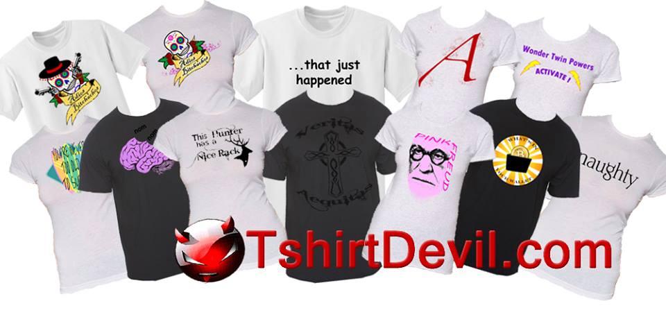 T-Shirt Devil Convenience