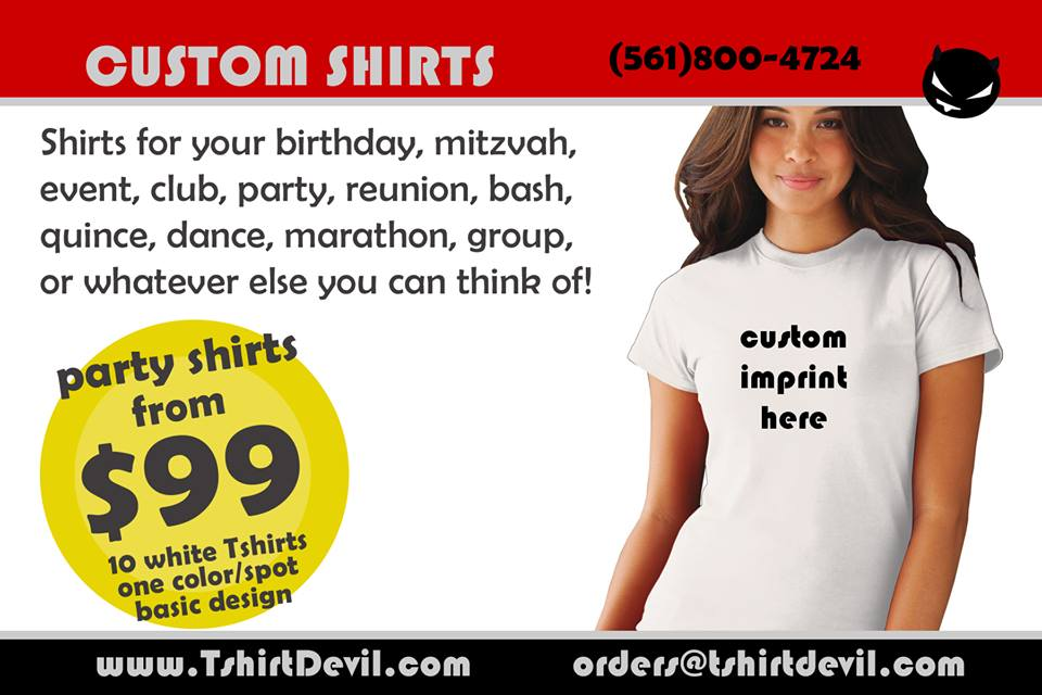 T-Shirt Devil Customization
