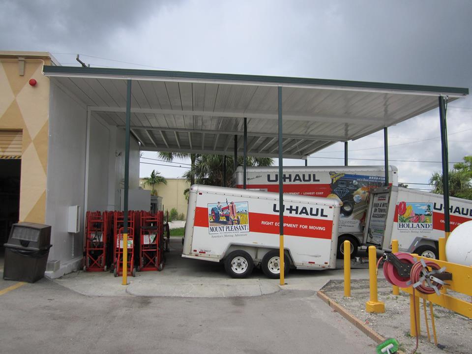 U-Haul West Palm Beach truck