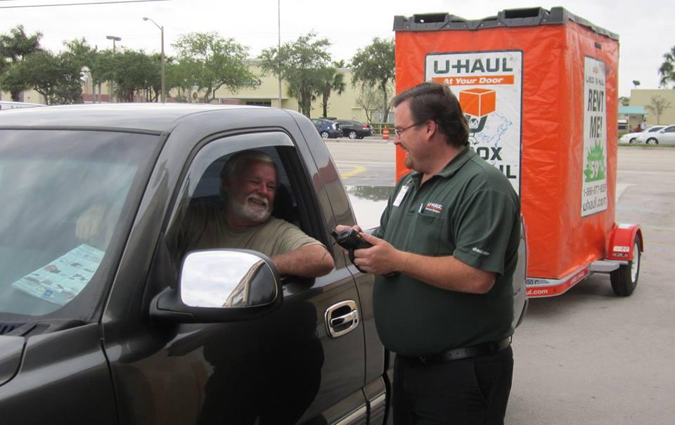 U-Haul West Palm Beach car