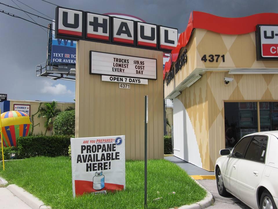 U-Haul West Palm Beach rent