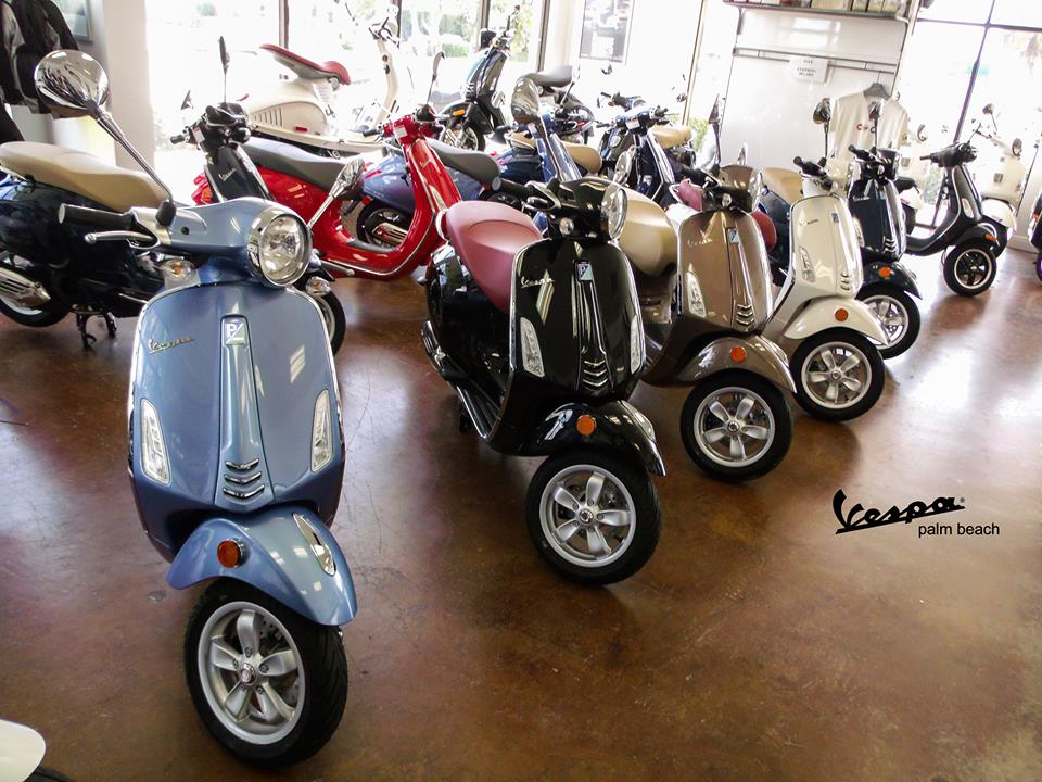 Vespa Palm Beach Information