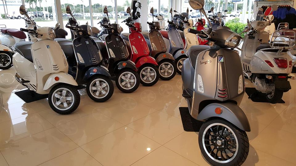 Vespa Palm Beach Comfortable