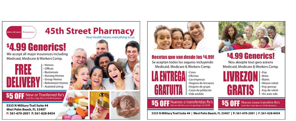 45th Street Pharmacy - West Palm Beach Informative