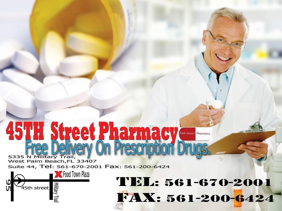 45th Street Pharmacy - West Palm Beach Affordability