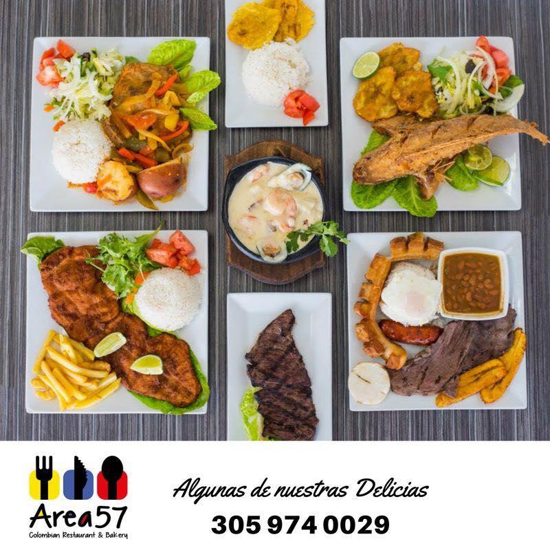 Area 57 Colombian Restaurant & Bakery - Sunny Isles Beach Environment