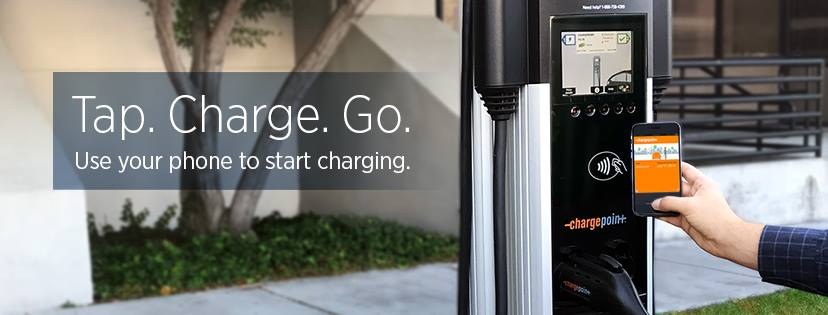 ChargePoint Network Charging Station Webpagedepot