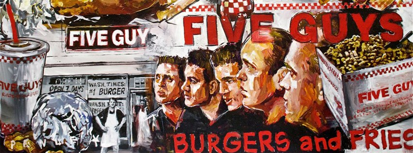 Five Guys - Wellington Establishment