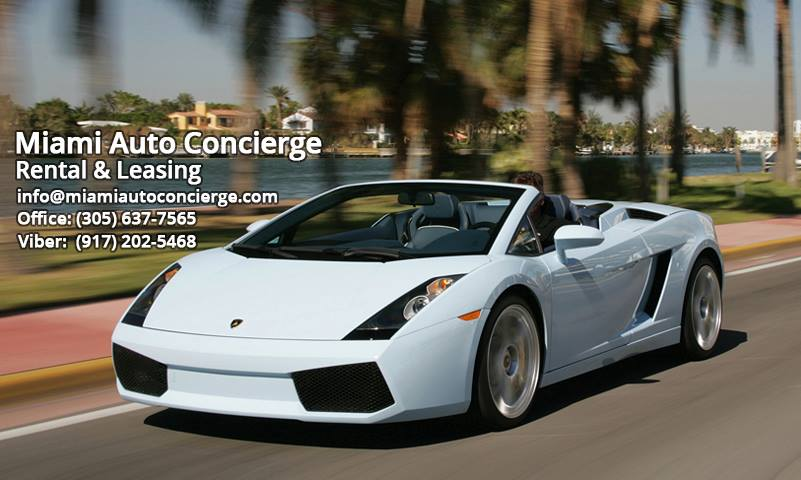 Miami Auto Concierge - Sunny Isles Beach Establishment