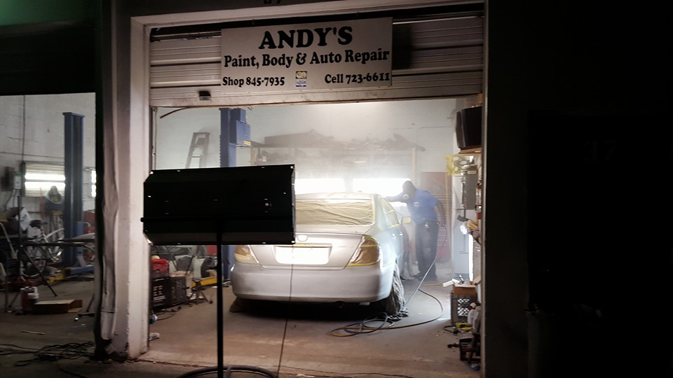 Andy's Paint & Body & Auto Repair - Riviera Beach Certification