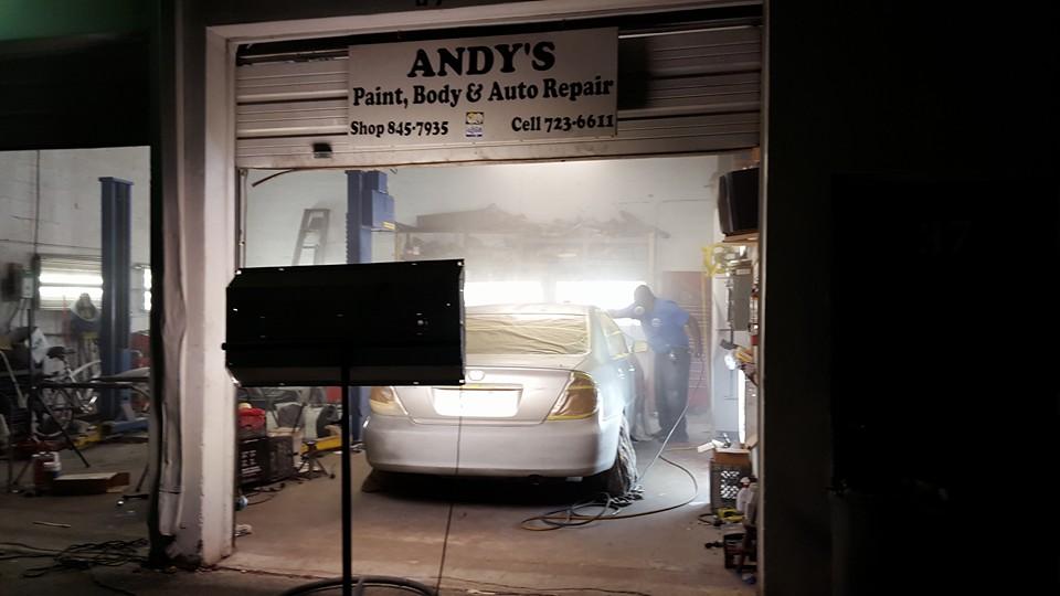Andy's Paint & Body & Auto Repair - Riviera Beach Documentation