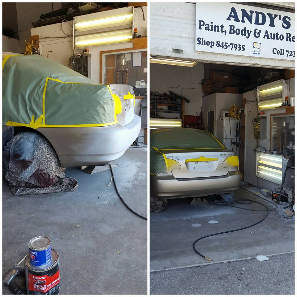 Andy's Paint & Body & Auto Repair - Riviera Beach Appointment
