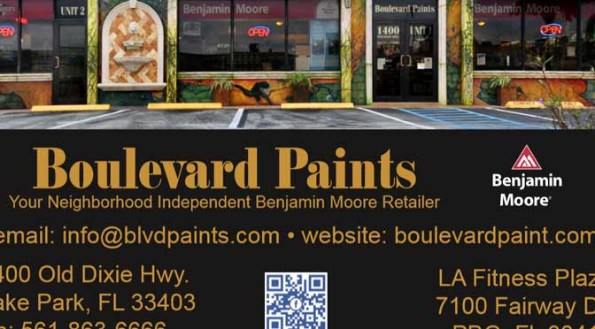 Boulevard Paints - Lake Park Combination