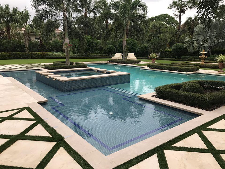 Fountain Blue Pool Services - West Palm Beach Construction