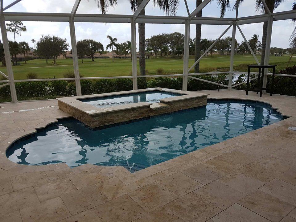Fountain Blue Pool Services - West Palm Beach Documentation