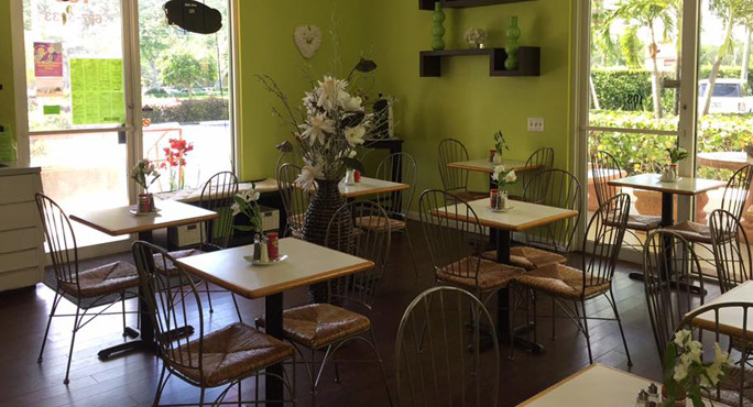 Green Garden Cafe sandwich
