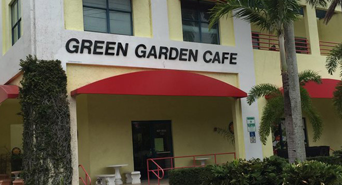 Green Garden Cafe home fries