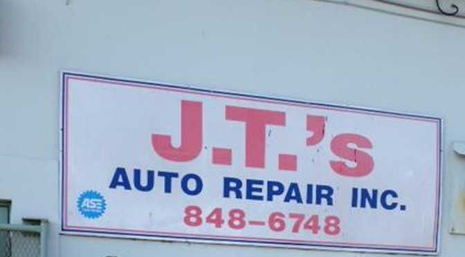 J. T.'s Auto Repair Requirements