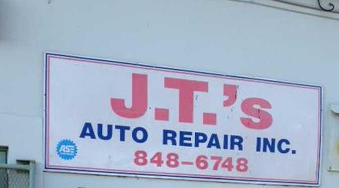 J. T.'s Auto Repair Informative