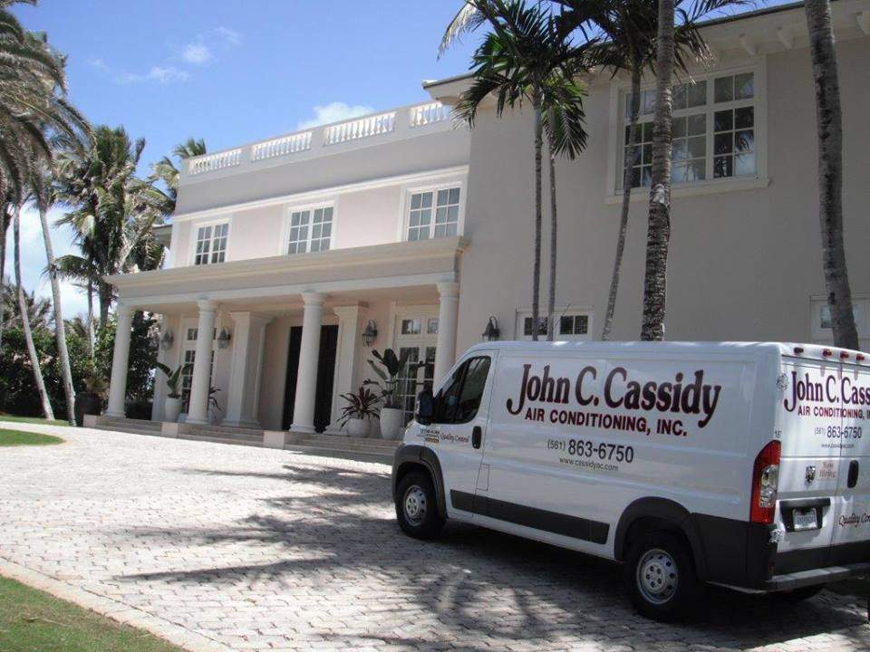 John C Cassidy Air Conditioning - Riviera Beach Ventilating