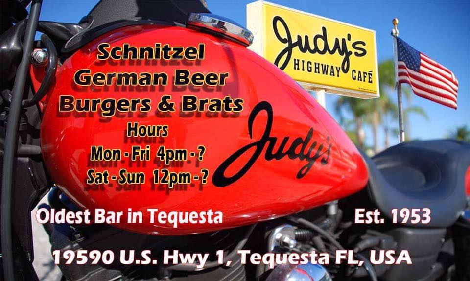 Judy's Highway Cafe - Tequesta Entertainment