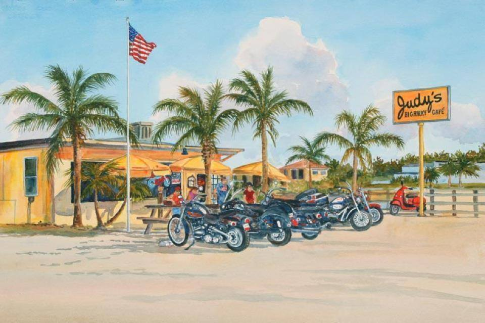 Judy's Highway Cafe Surroundings