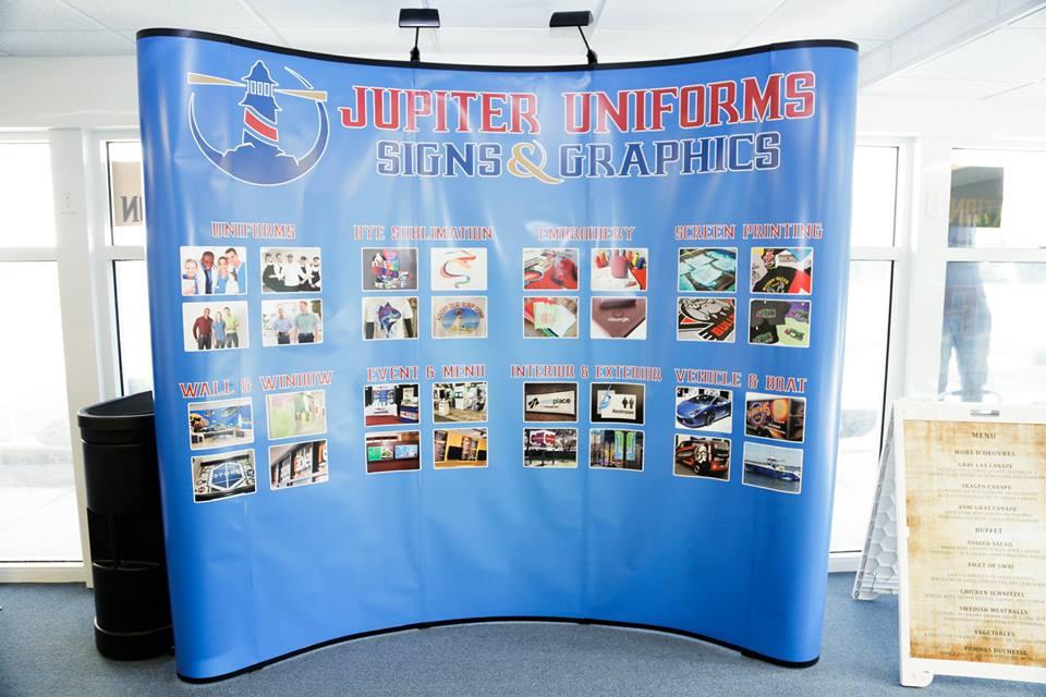 Jupiter Uniforms, Signs & Graphics - Jupiter Wheelchairs