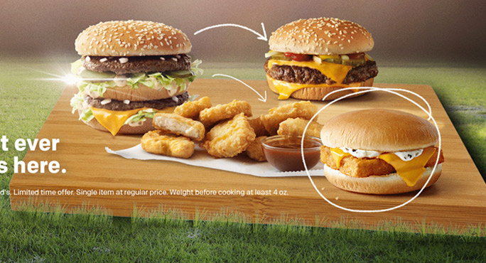 McDonald's-Riviera Beach great variety of fast foods