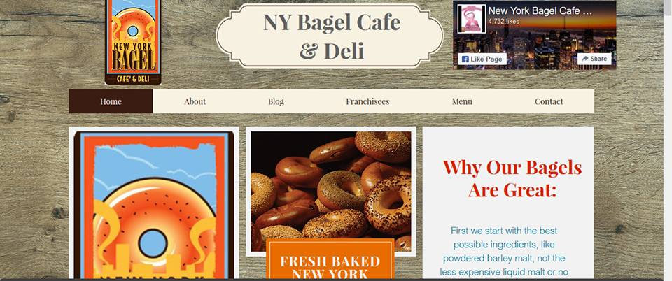 NY Bagels & Deli - Houston Webpagedepot
