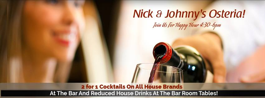 Nick & Johnny's Osteria Information