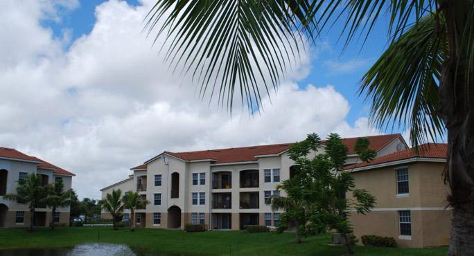 Portofino Apartments laundry facility