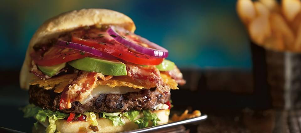 Red Robin Gourmet Burgers burger