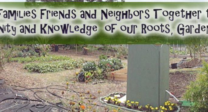 Seeds of Hope Community Garden - Lake Park Association