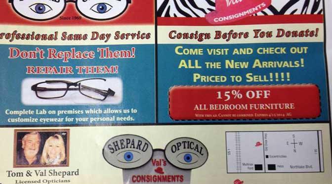 Shepard Optical - Lake Park Information