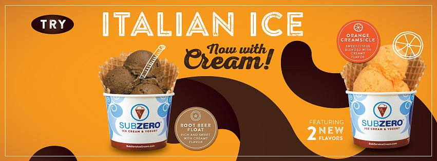 Sub Zero Ice Cream - Parkland Maintenance