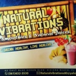 Natural Vibrations Smoothie Cafe - Riviera Beach, Natural Vibrations Smoothie Cafe - Riviera Beach, Natural Vibrations Smoothie Cafe - Riviera Beach, 80 Blue Heron Boulevard, Riviera Beach, Florida, Palm Beach County, Cafe, Restaurant - Cafe Diner Deli Coffee, coffee, sandwich, home fries, biscuits, , Restaurant Cafe Diner Deli Coffee, burger, noodle, Chinese, sushi, steak, coffee, espresso, latte, cuppa, flat white, pizza, sauce, tomato, fries, sandwich, chicken, fried