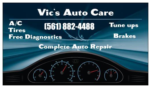 Vic's Auto Care - Riviera Beach Restoration