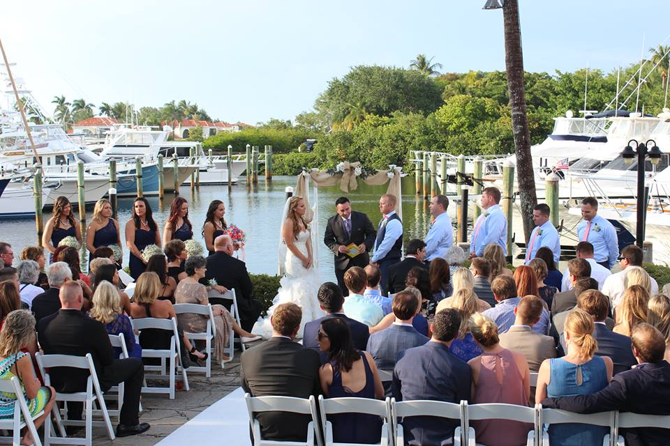 Out of the Blue Waterfront Weddings & Events - Jupiter Appointments