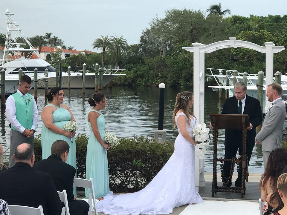 Out of the Blue Waterfront Weddings & Events - Jupiter Webpagedepot