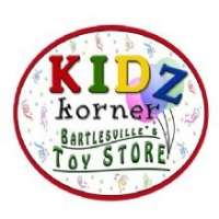 Kidz Korner - Bartlesville Kidz Korner - Bartlesville, Kidz Korner - Bartlesville, 308 S Dewey Ave, Bartlesville, OK, , toy store, Retail - Toys, video games, dolls, action figures, learning games, building blocks, , shopping, children, boys, girls, Shopping, Stores, Store, Retail Construction Supply, Retail Party, Retail Food