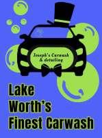 Joseph's Car Wash LLC Joseph's Car Wash LLC, Josephs Car Wash LLC, 1502 S Dixie Hwy, Lake Worth, FL, , car wash, Service - Auto Car Wash, car wash, vacuum, wax, detail, , /au/s/Auto, auto, Services, grooming, stylist, plumb, electric, clean, groom, bath, sew, decorate, driver, uber