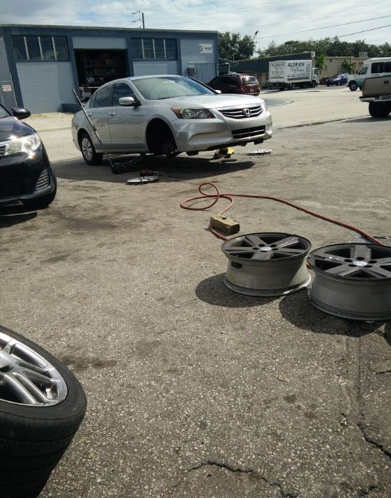 Tony's Tires Road Services - Lake Worth Information