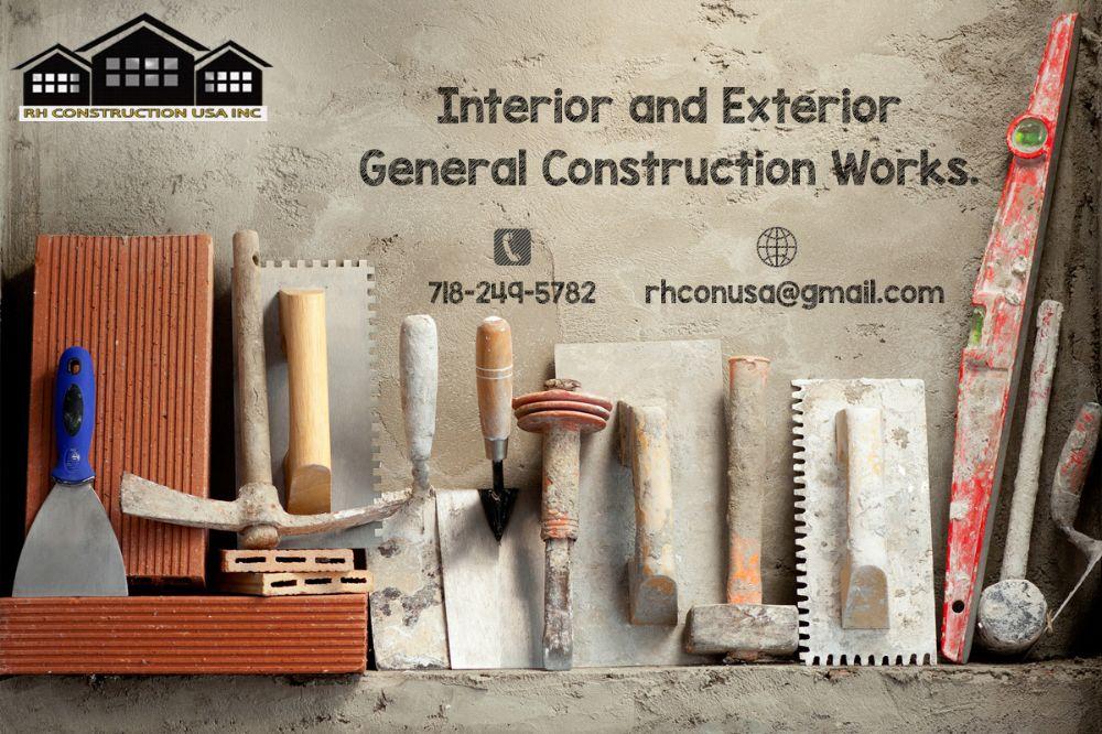 RH Construction USA INC - Brooklyn Appointments