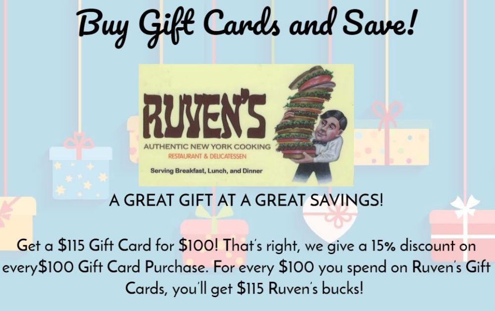 Ruven's Restuarant Information