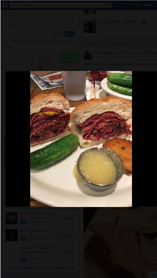 Jacob's Restaurant & Delicatessen - Boynton Affordability