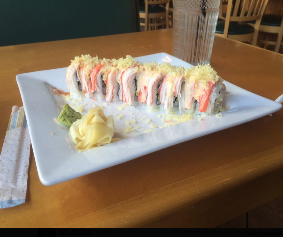 Sushi Yama Siam Japanese Thai Restaurant Accommodate