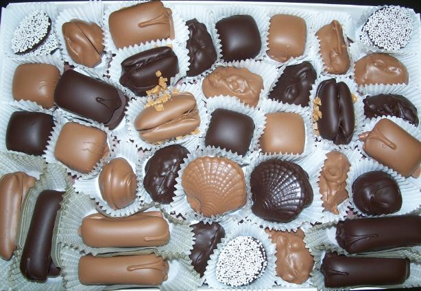 Scheurer's Hand-Dipped Chocolate Thumbnails
