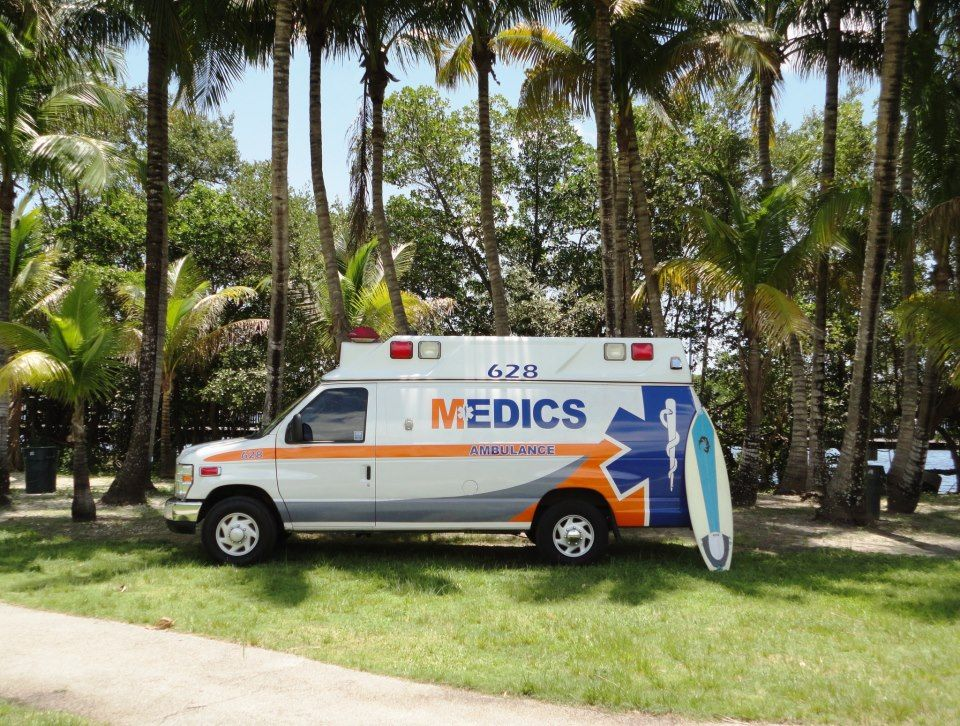 Medics Ambulance Services - Fort Lauderdale Wheelchairs
