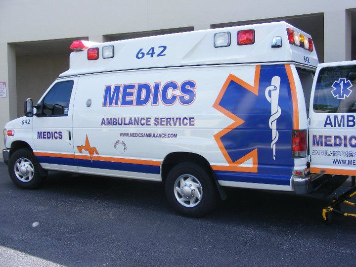 Medics Ambulance Services - Fort Lauderdale Appointment