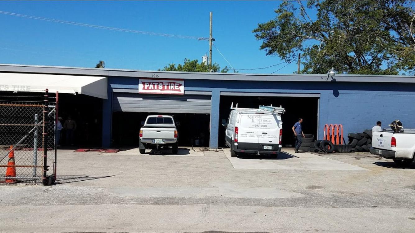 Pat's Tire - West Palm Beach Webpagedepot